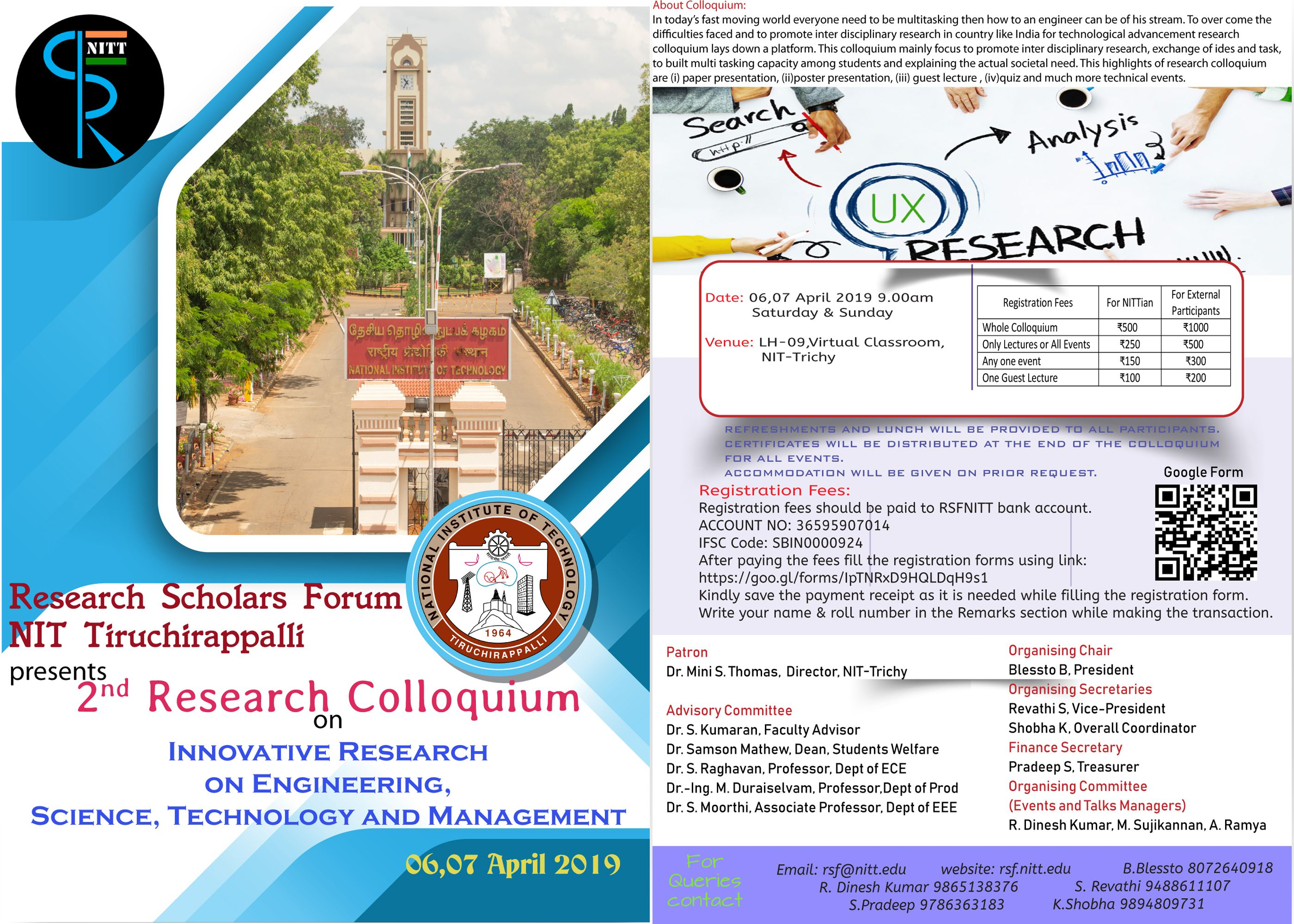 2nd Research Colloquium 2019