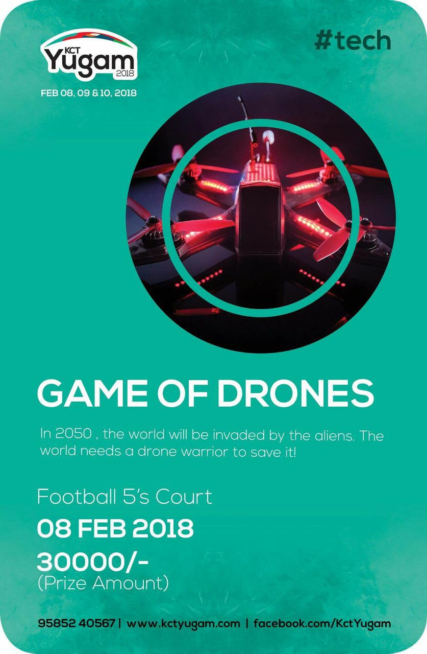 Game of Drones 2018