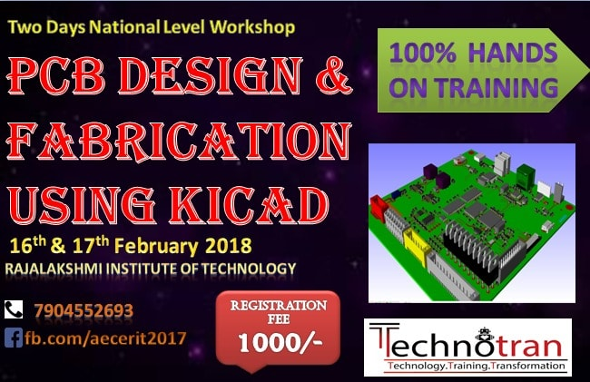 PCB Design and Fabrication workshop