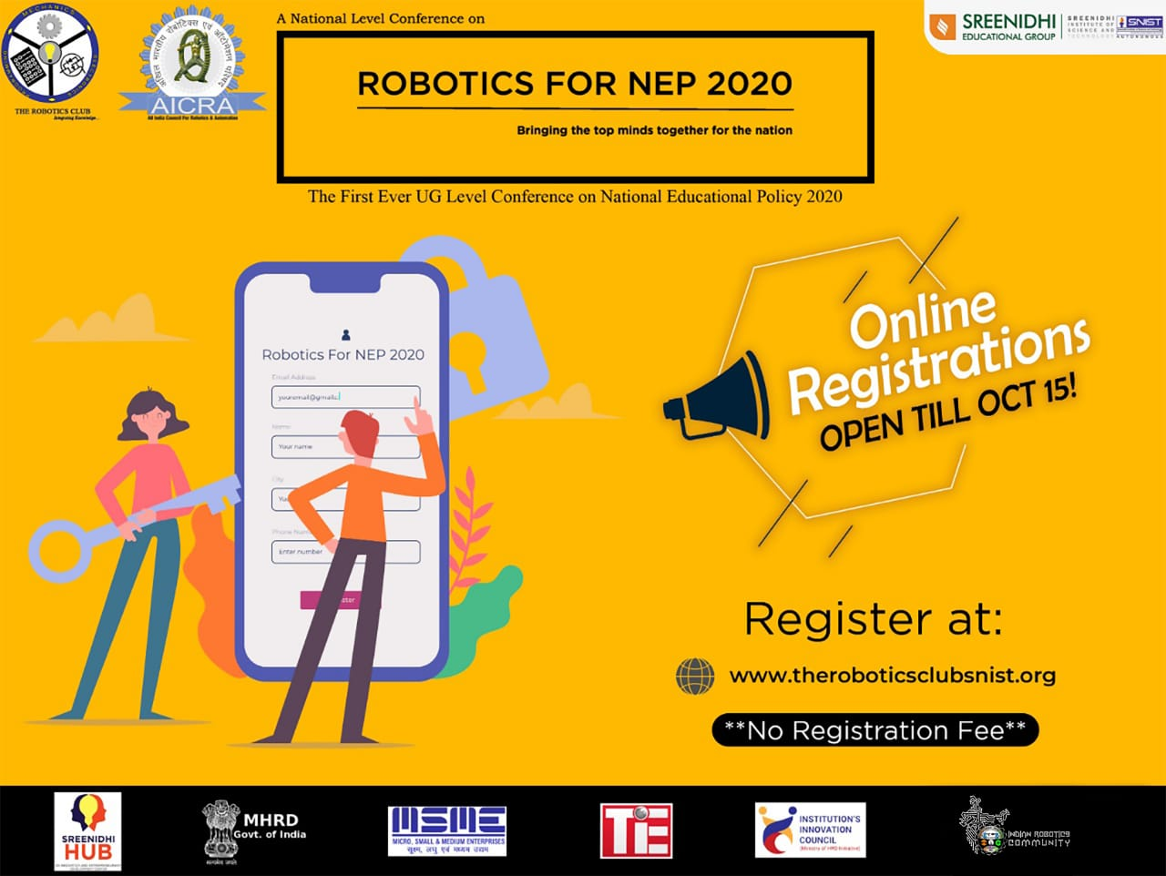 National Level Conference on Robotics for National Educational Policy 2020