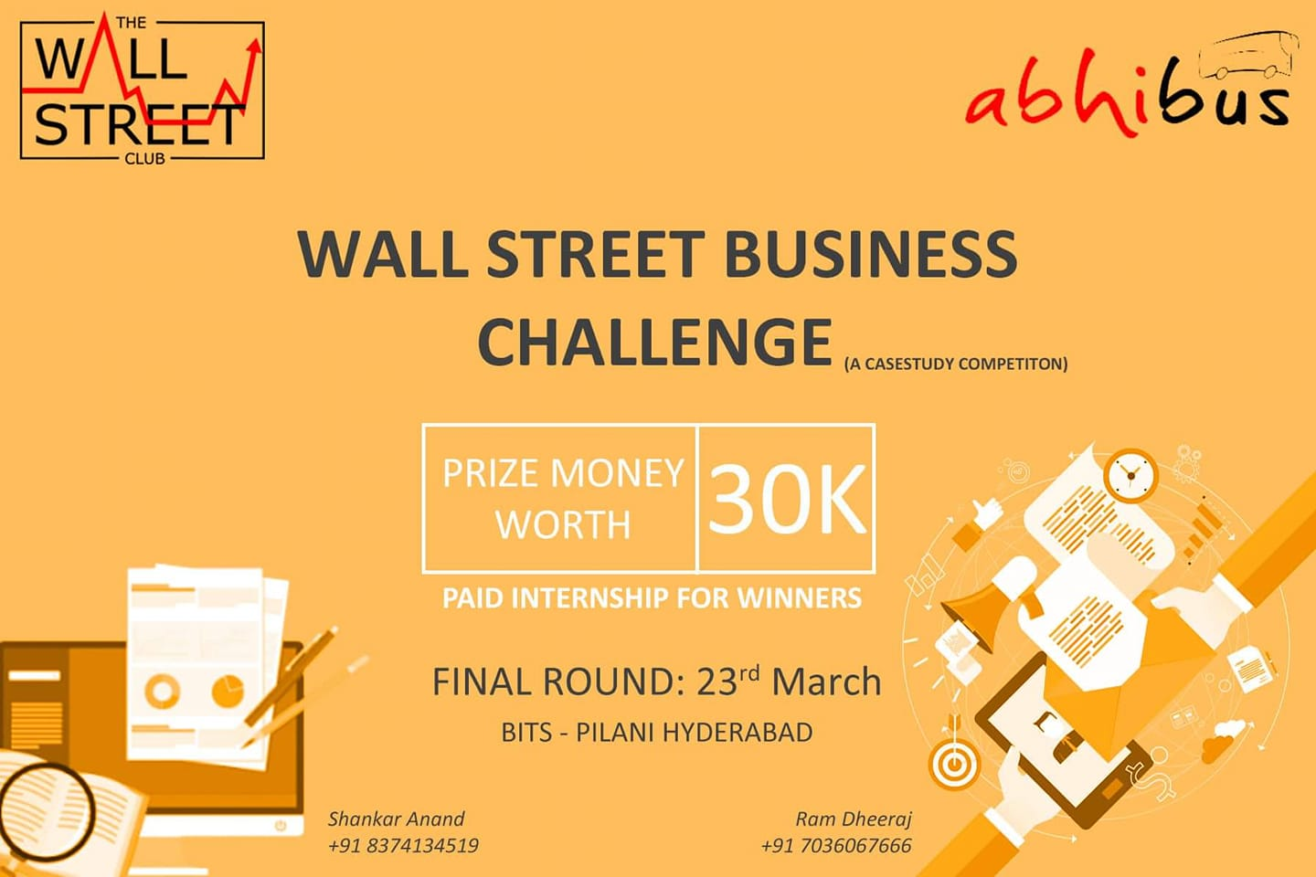 The WallStreet Business Challenge 2019
