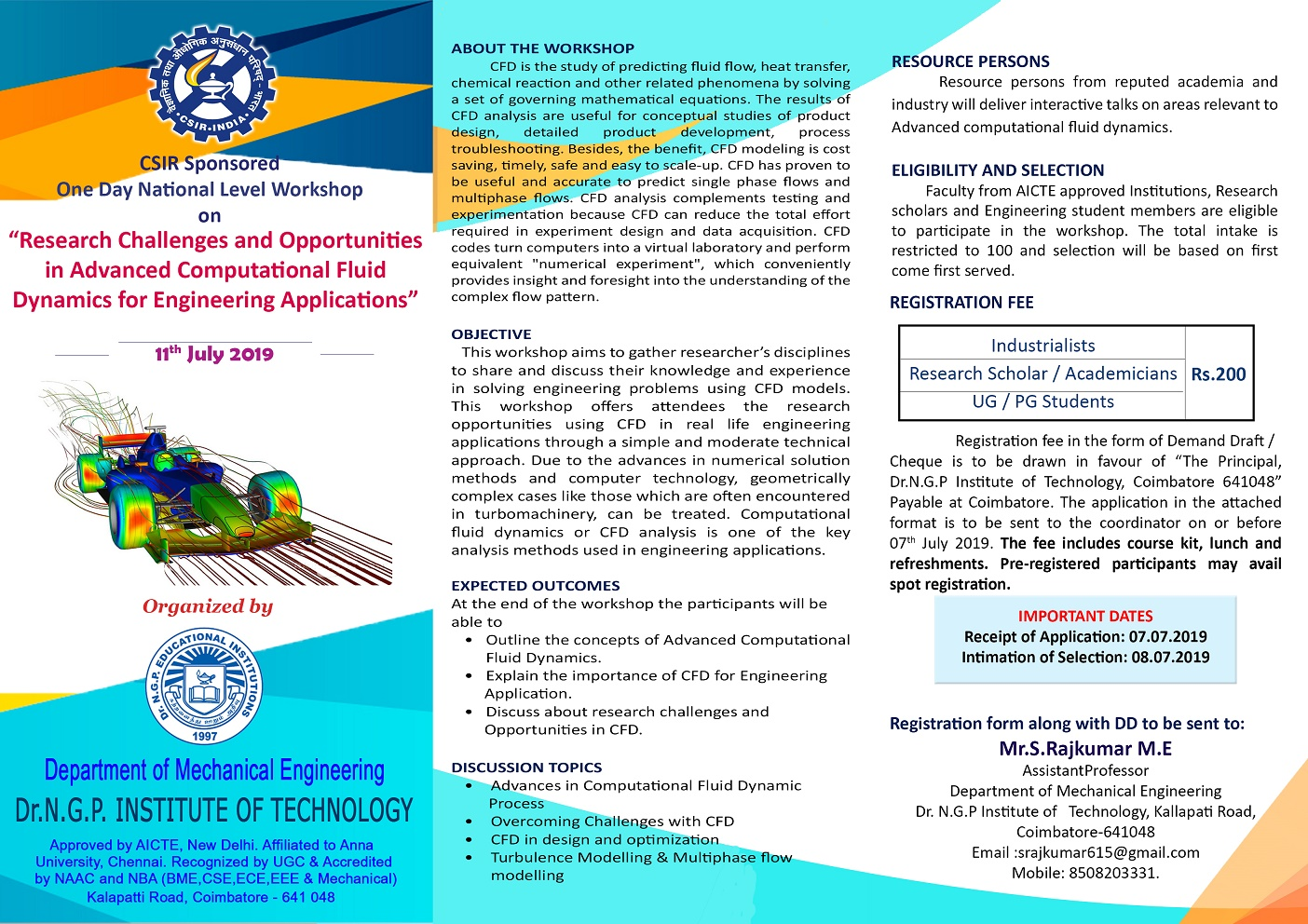 One Day National Level Workshop on Research Challenges and