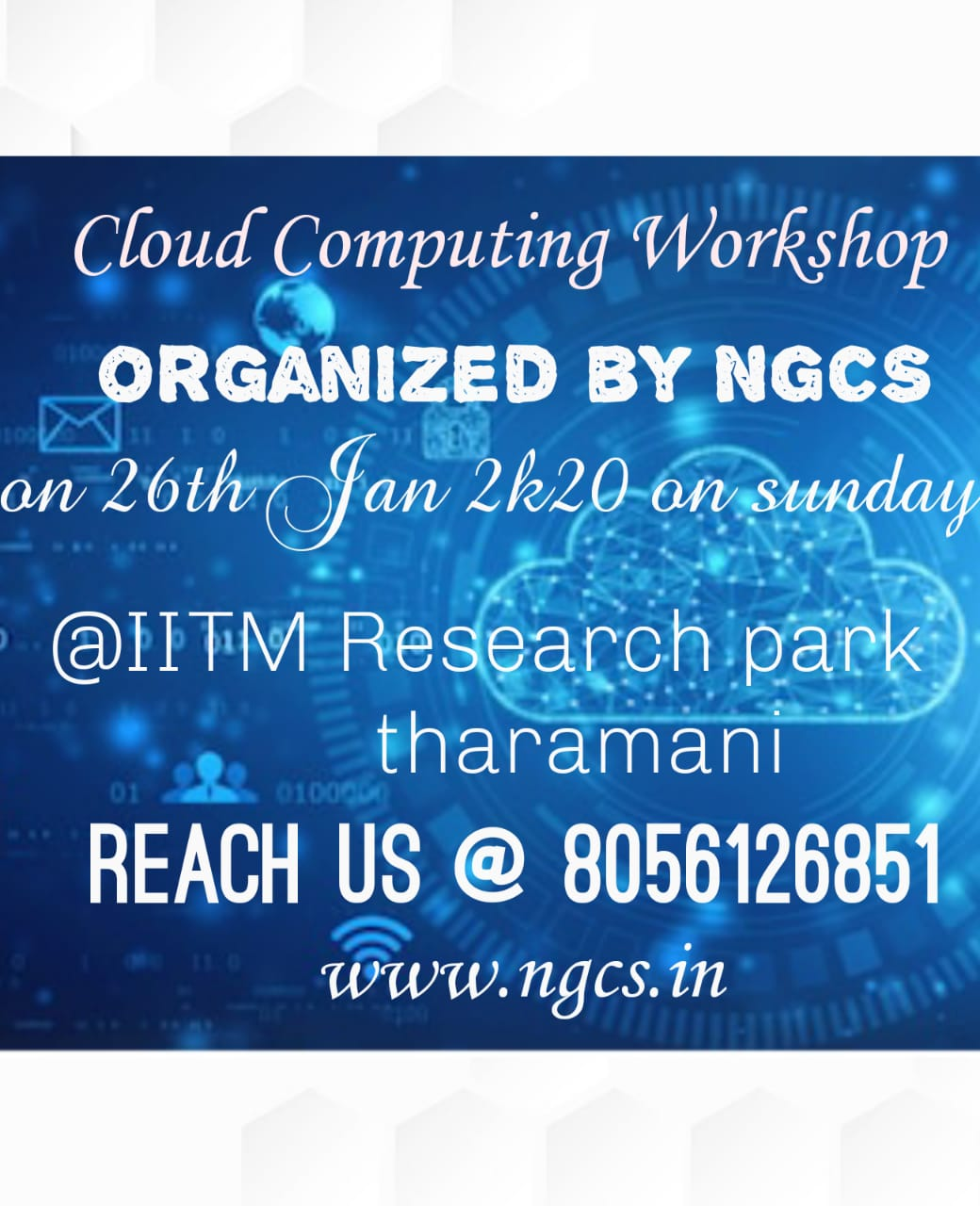 Cloud Computing Workshop  Amazon Web Services 2020