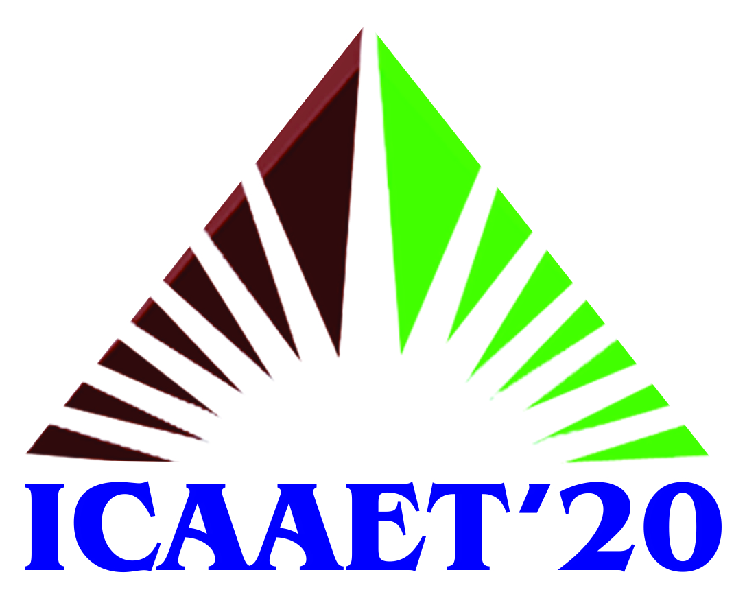 2nd International Conference on Advances in Applied Engineering and Technology ICAAET 2020