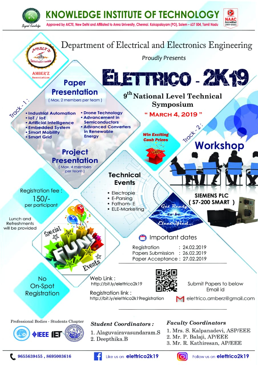 ELETTRICO 2K19