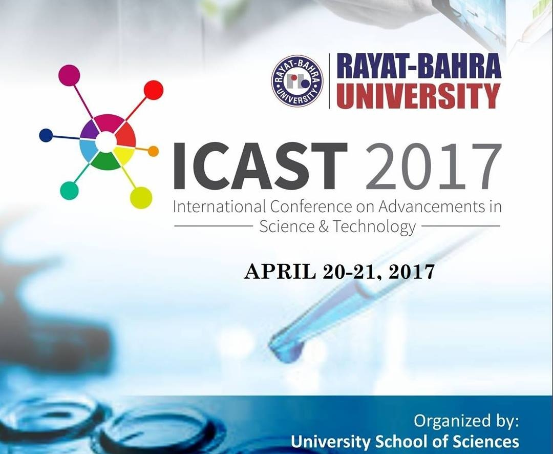 International Conference on Advancements in Science and Technology ICAST 2017