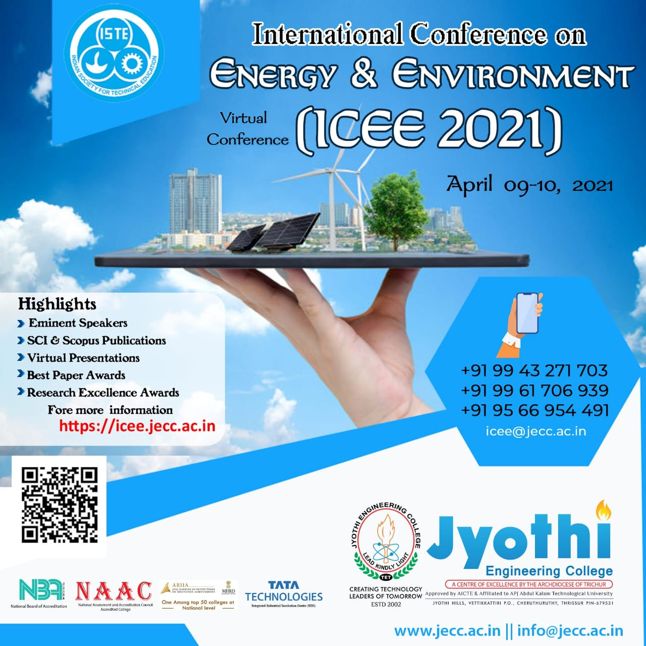 International Conference on Energy and Environment ICEE 2021