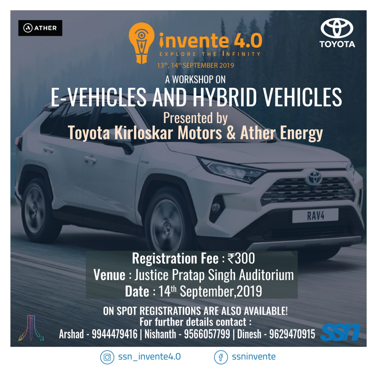 Workshop on E-Vehicles and Hybrid Vehicles 2019