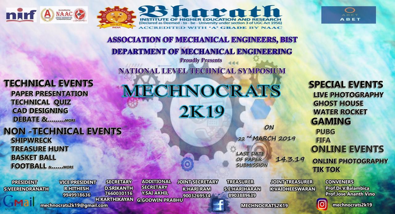 MECHNOCRATS 2K19