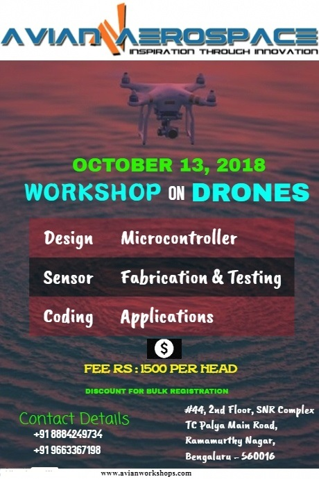 Workshop on Drone 2018
