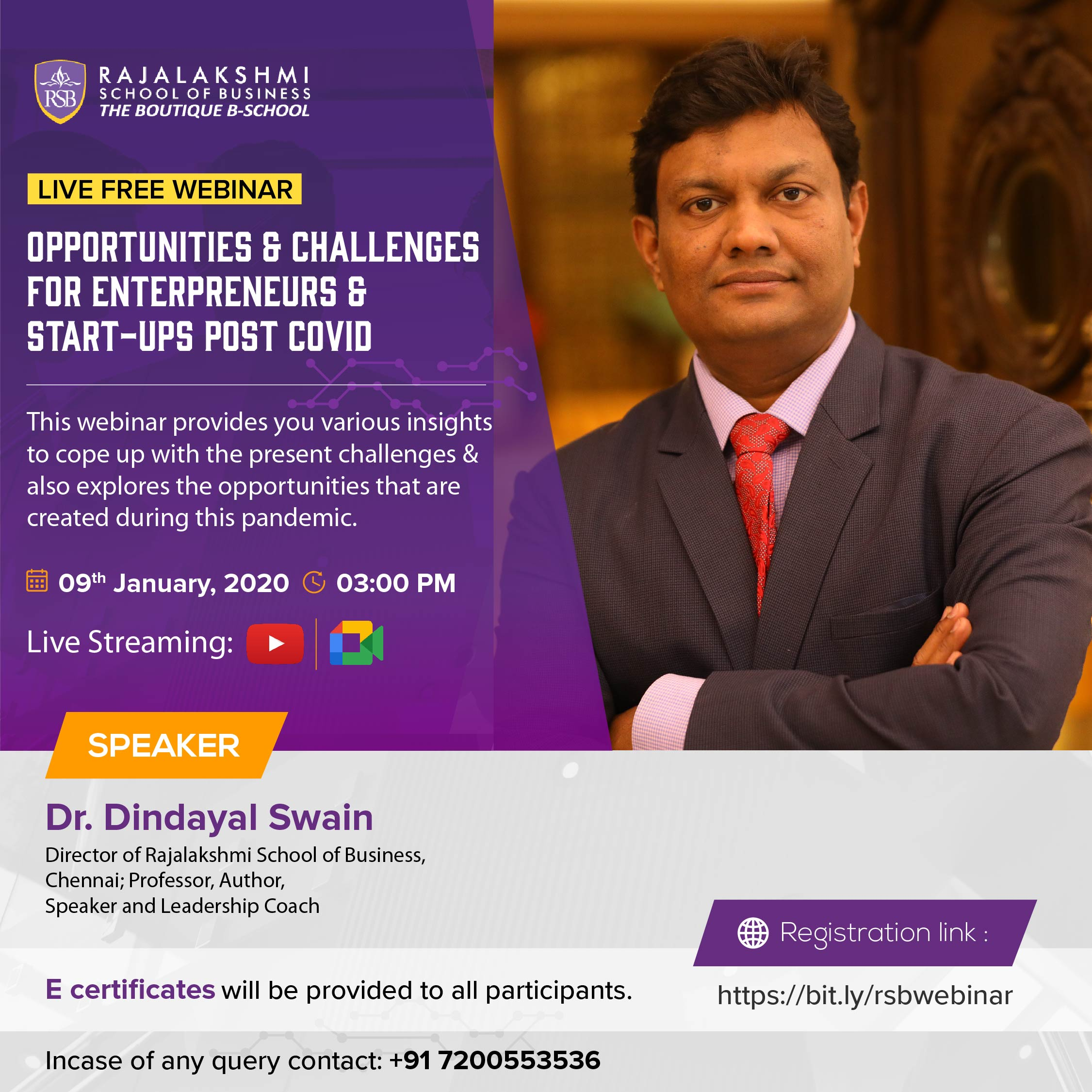 Opportunities and Challenges for Entrepreneurs and Startups Post COVID