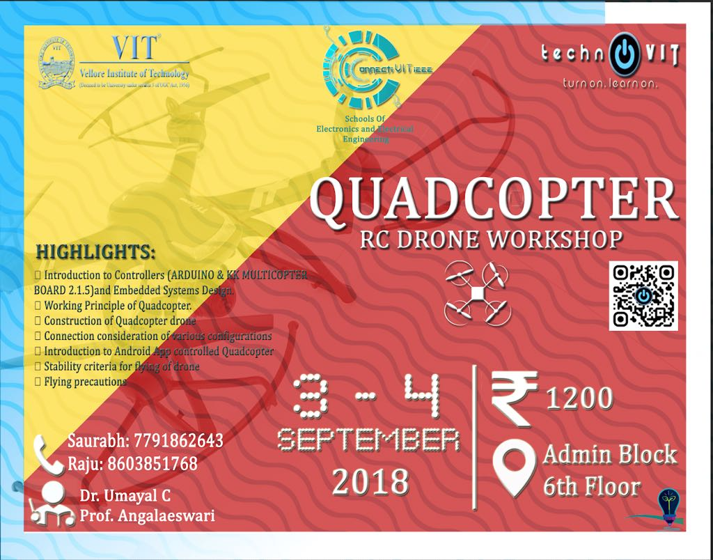 Quadcoptor Workshop 2018