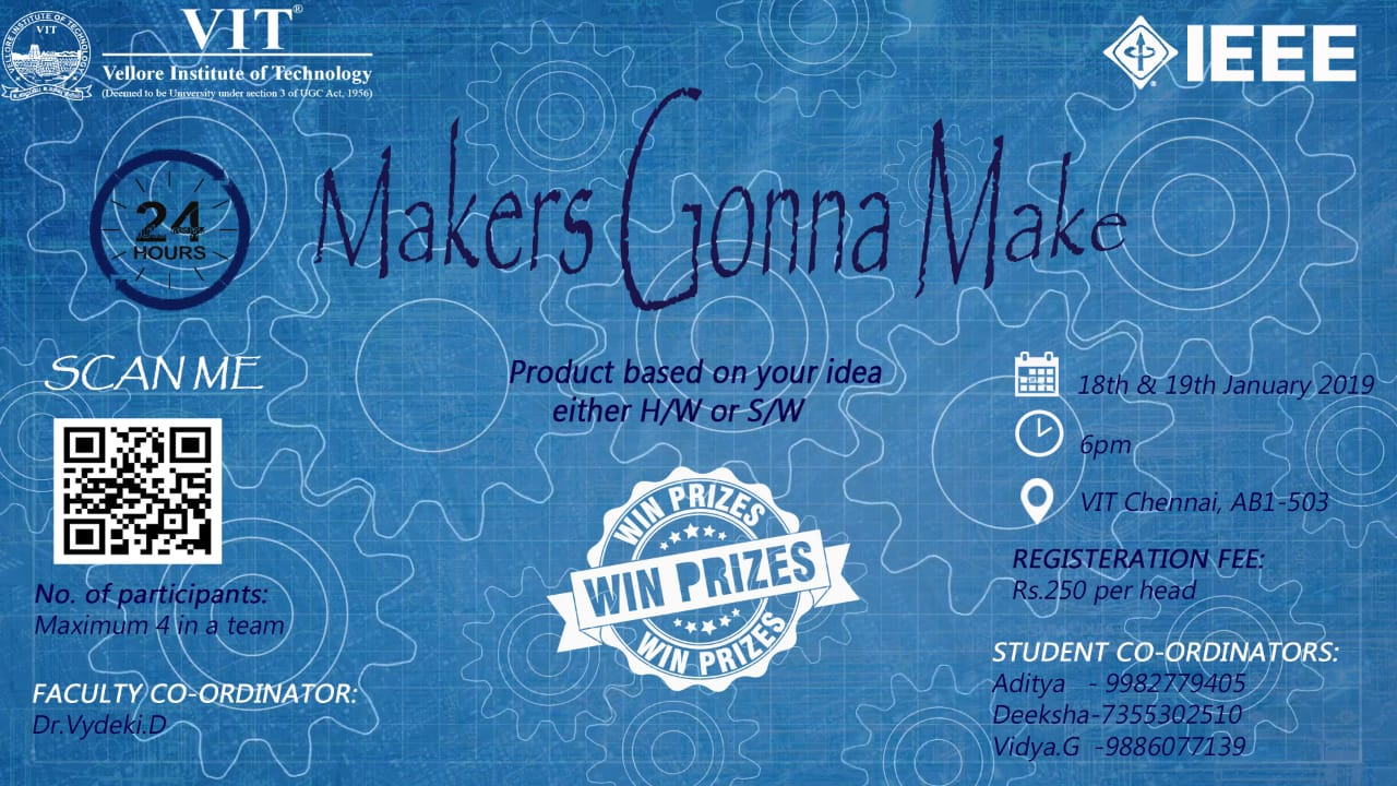 IEEE Makers Gonna Make 2019
