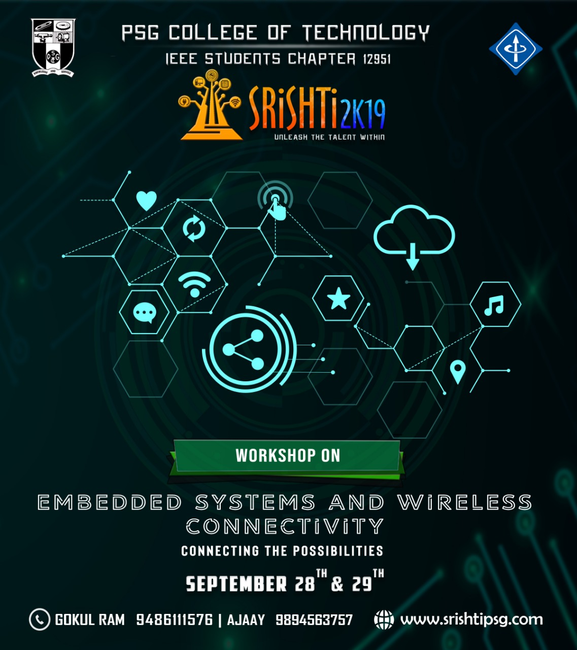 Embedded systems and Wireless Connectivity 2019