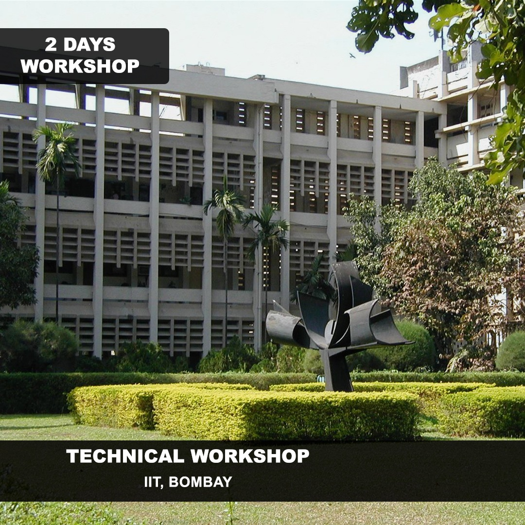 Technical Workshop Series at IIT Bombay 2019