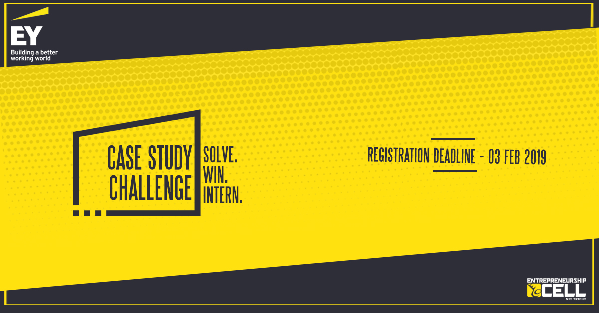 National Case Study Challenge by EY 2019