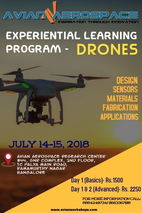 Experiential Learning and Discovery Workshop Series on Drone 2018