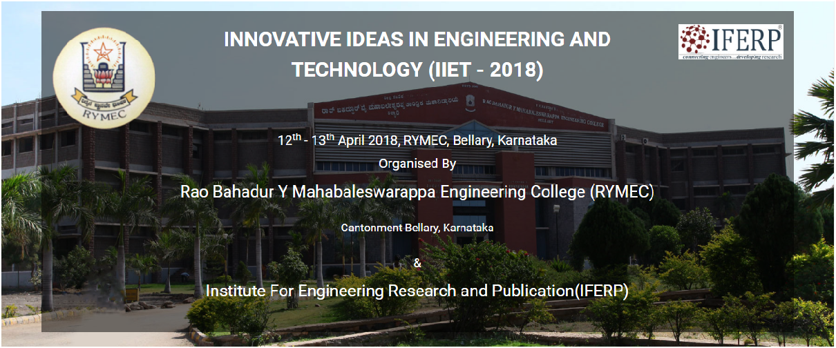 International Conference on Innovative Ideas in Engineering and