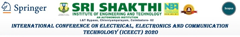 International Conference on Electrical, Electronics and Communication Technology 2020