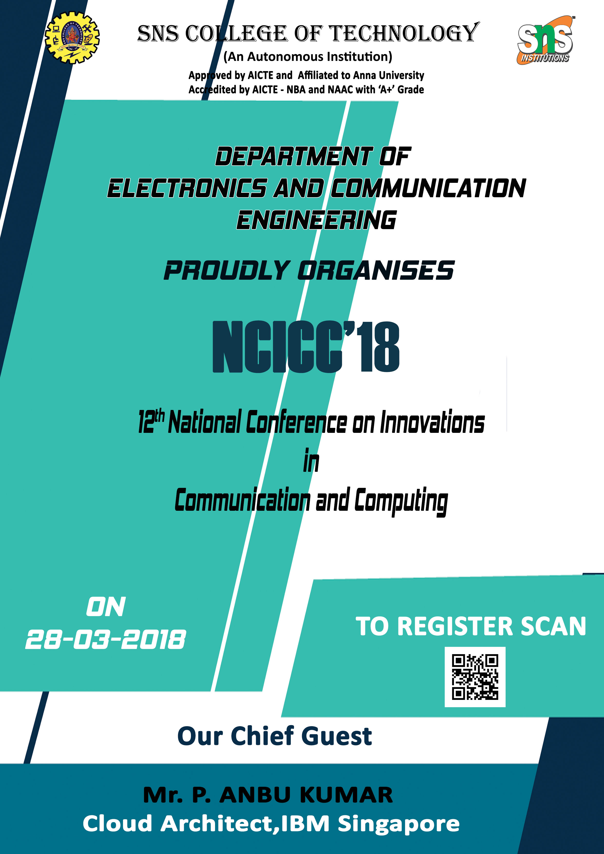 12th National Conference on Innovations in Communication and Computing 2018